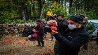 Sonbahar renklerine bürünen Domaniç Dağları'nda foto safari yapanların sayısı artıyor