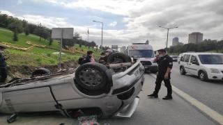 Ataşehir'de trafik kazası: 3 yaralı