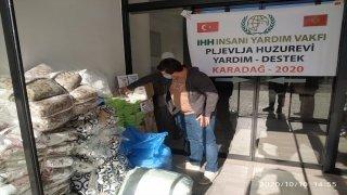 İHH'dan Karadağ'daki huzurevine insani yardım