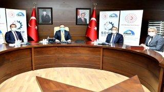 Elazığ'da Fırat Kalkınma Ajansından 2 projeye finansman desteği