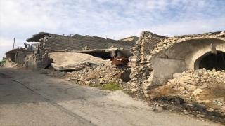 Musul'un DEAŞ'tan kurtarılan İyaziye nahiyesinde 650 ev kullanılamaz durumda