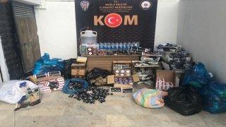 Muğla'da sahte içki ve kaçakçılık operasyonu: 28 gözaltı