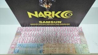 Samsun'da uyuşturucu operasyonunda 1 kişi gözaltına alındı