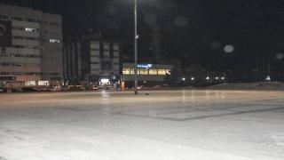 İç Anadolu'da sokağa çıkma yasağının ardından cadde ve sokaklar boş kaldı