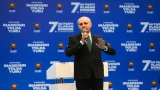 Kurtulmuş, AK Parti Fatih 7. Olağan İlçe Kongresi'nde konuştu: