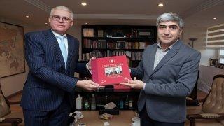 Fas'ın Ankara Büyükelçisi Lazreq'ten AA'ya ziyaret