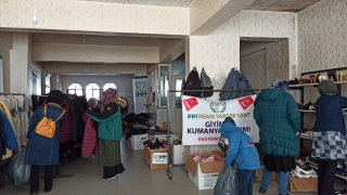 Kastamonu'da İHH'den kışlık kıyafet yardımı