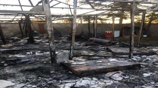 Samsun'da villada çıkan yangında bir kişi hayatını kaybetti