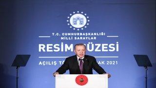 Cumhurbaşkanı Erdoğan, Milli Saraylar Resim Müzesi Açılış Programı'nda konuştu: (2)