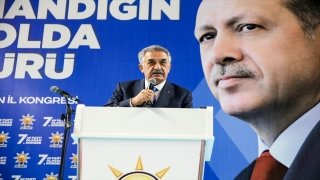 Genel Başkan Yardımcısı Hayati Yazıcı, AK Parti Mardin 7. Olağan İl Kongresi'nde konuştu