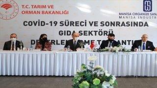 Tarım ve Orman Bakanı Pakdemirli, gıda sektörü temsilcilerine hitap etti