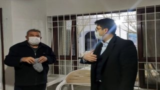 Kaymakam Bayraklı'dan Akkuyu NGS'deki planlı patlatmada zararı oluşanlara ziyaret