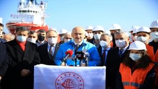 """Ulaştırma ve Altyapı Bakanı Adil Karaismailoğlu: """"Yeni dönem, Anadolu coğrafyasının da içinde bulunduğu AvrupaAsyaAfrika üçgeninin yükselişine sahne olacaktır. Bu bölgenin tam kalbinde yer alan ülkemi"""
