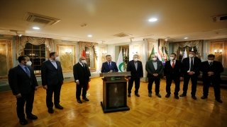 Cumhurbaşkanı Yardımcısı Fuat Oktay, Yeşilay'ı ziyaret etti: