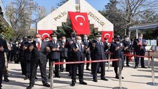 Türk Polis Teşkilatının 176. kuruluş yıl dönümünde şehitler unutulmadı
