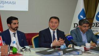 DEVA Partisi Genel Başkanı Ali Babacan, Batman'da temaslarda bulundu