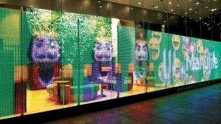 LG Transparan Led Ekran, kaliteli görüntü ve kolay kurulum vadediyor