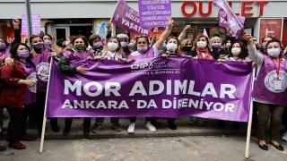 CHP'li kadınlardan Türkiye'nin İstanbul Sözleşmesi'nden çekilmesine tepki