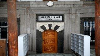 Kayseri'de tarihi caminin muslukları çalındı