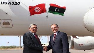 Tunus Hava Yolları, 7 yıl aradan sonra Libya'ya ilk kez sefer düzenledi