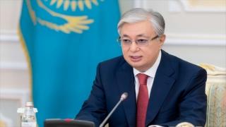 """Kazakistan Cumhurbaşkanı Tokayev: """"Bölgede en çok yatırım çeken ülke konumunu sürdürmeye kararlıyız"""""""
