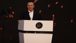 Dışişleri Bakanı Mevlüt Çavuşoğlu, Antalya Diplomasi Forumu'nun açılışında konuştu