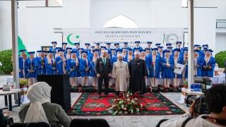 Karadağ'daki Mehmet Fatih Medresesinin mezuniyet törenine yapıldı