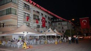 Şehit İl Emniyet Müdür Yardımcısı Cevher'in babaevi Türk bayraklarıyla donatıldı