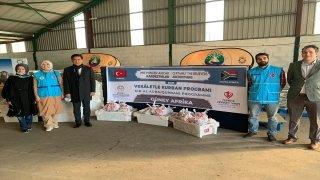 TDV Güney Afrika'da 10 bin aileye kurban eti dağıttı