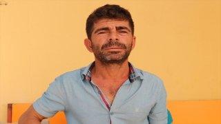 Manavgat'taki orman yangınında sığındıkları villayı alevler saran aile, havuzun içinde bekledi