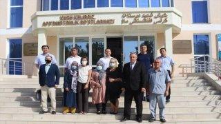 AB Orta Asya Özel Temsilcisi Terhi Hakala, Özbek-Afgan sınırında incelemelerde bulundu