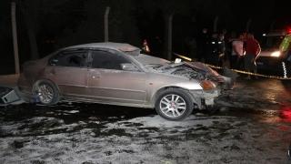 İzmir'de meydana gelen trafik kazasında 1 kişi öldü, 3 kişi yaralandı