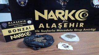 Manisa'da uyuşturucu operasyonunda 3 kişi gözaltına alındı