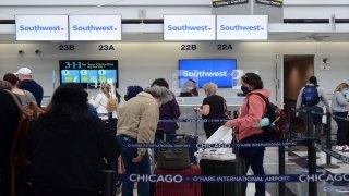ABD'de hava yolu şirketi Southwest Airlines'in 2000'den fazla uçuşu iptal oldu