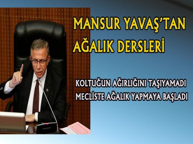 Ankara'nın Mansur Ağası