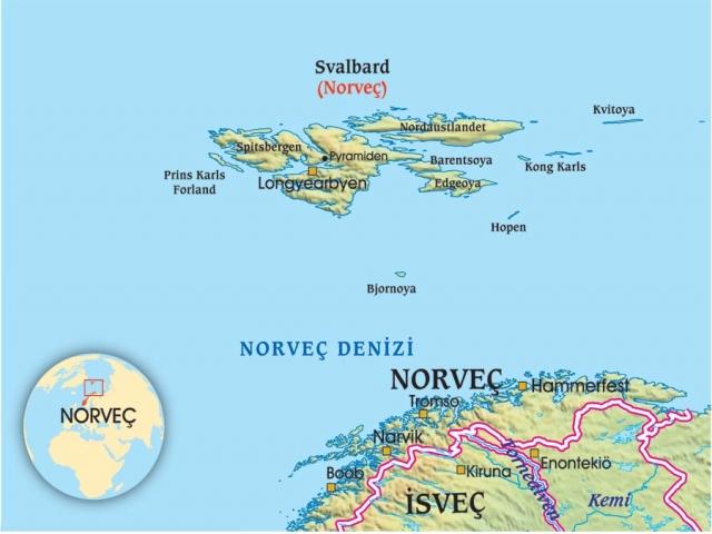Ölmenin yasak olduğu kasaba Longyearbyen