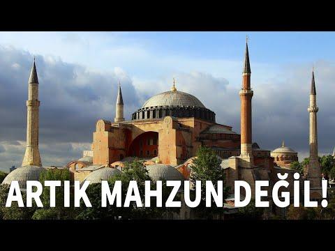 Ayasofya Camii Artık Mahzun Değil!